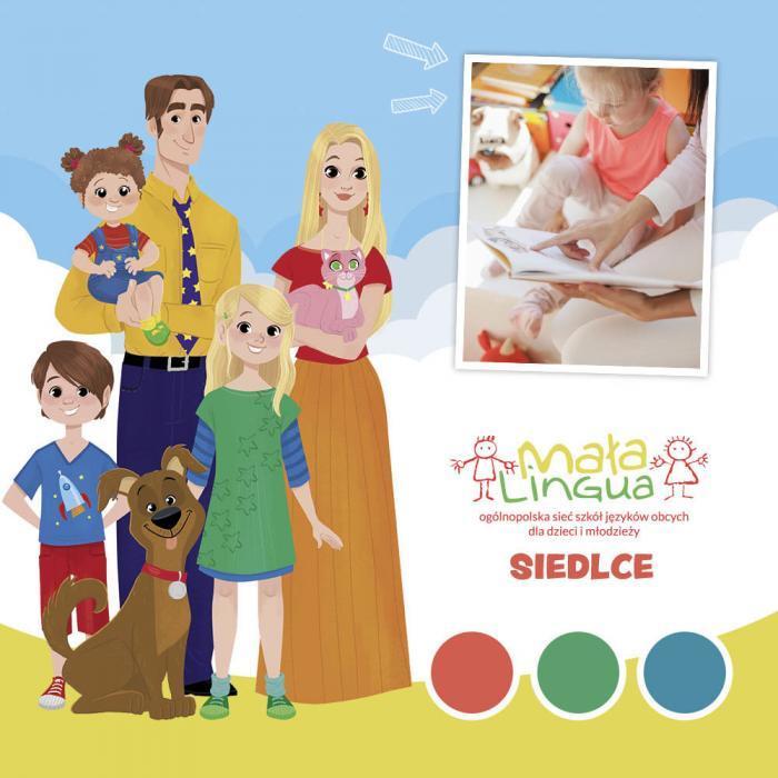case study: landing page szkoły Mała Lingua Siedlce