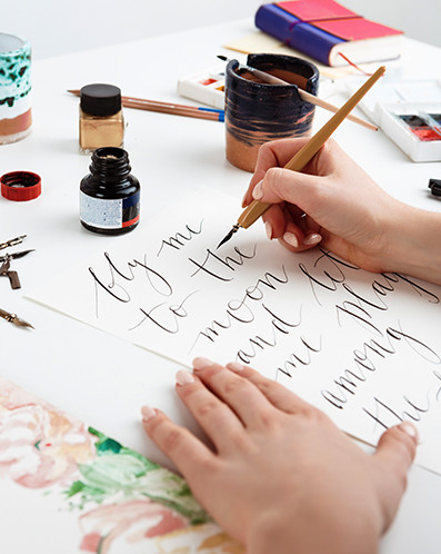 rodzaje czcionek kaligrafia