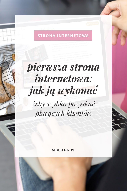 pierwsza strona internetowa Pinterest