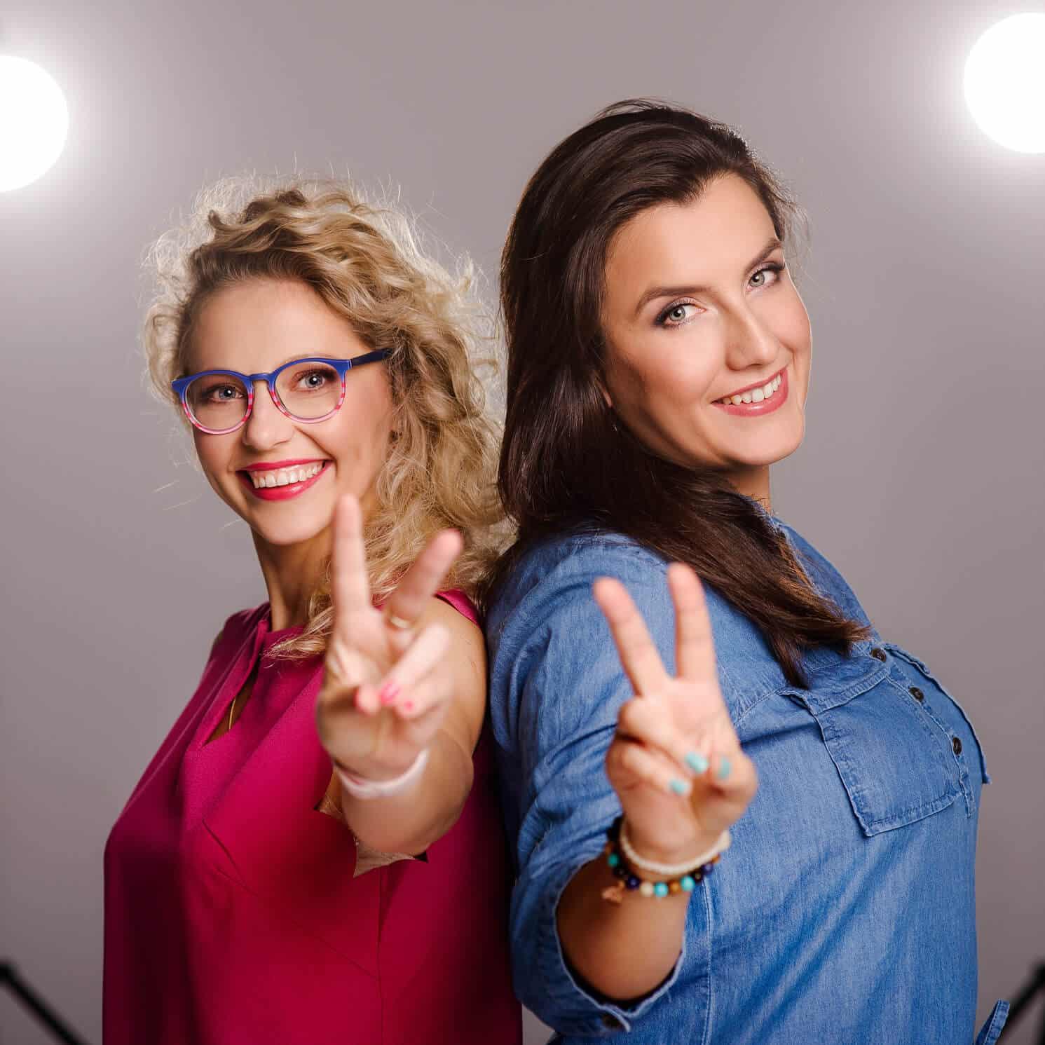nieszablonowy SHABLON Karla i Ania blog dla grafików